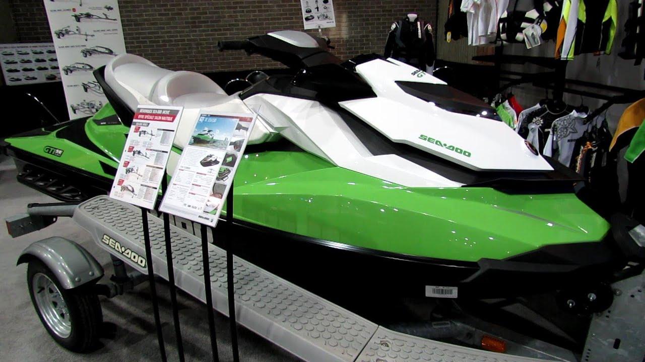 2013 Sea-doo Gti Se-130 Jet Ski - Walkaround - 2013 Montreal Boat Show