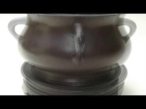 Chinese Qing dynasty bronze censer or Incense burner