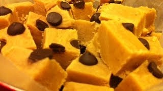 Easy Peanut Butter Fudge Recipe - With Chocolate Chips!