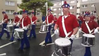 Lindsay Mooney Memorial Flute Band, Londonderry @ Airdrie A.B.O.D Parade 2017