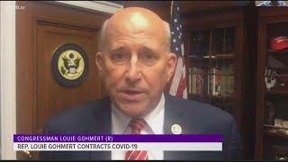 Louie gohmert speaks to cbs19 after covid-19 diagnosis