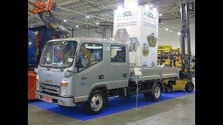 JAC N56DC - уникальный грузовик для украинских аграриев
