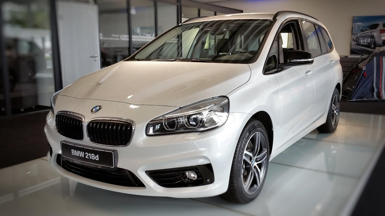 2015 bmw 218d gran tourer sport line youtube. Black Bedroom Furniture Sets. Home Design Ideas