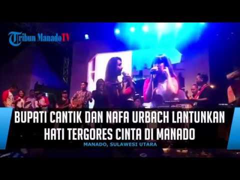 Bupati Cantikdan Nafa Urbach Lantunkan Hati Tergores Cinta di Manado