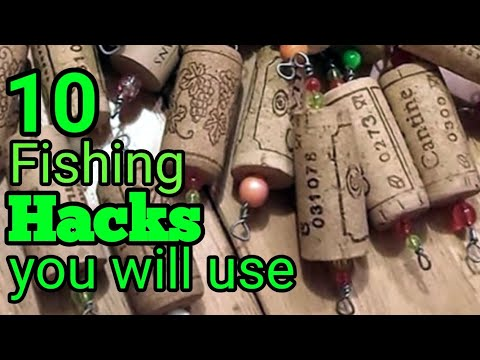 10 Fishing Hacks  (YOU WILL USE )