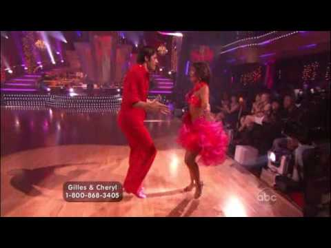 DWTS Gilles Marini & Cheryl Burke Samba Week 3