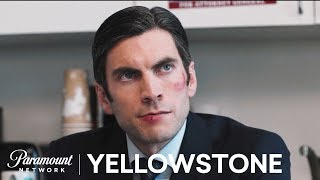 'You've Been Replaced' Jamie's Campaign Office   Yellowstone Season 1   Paramount Network