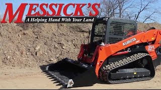 Overview of the Kubota SVL95-2S Compact  Track Loader | Messick's
