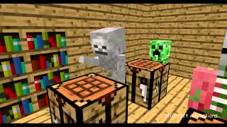 Mincraft school : crafting