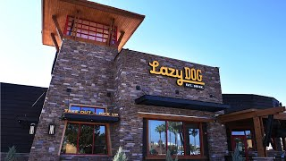 Lazy Dog Restaurant & Bar opens Monday for dogs and their humans