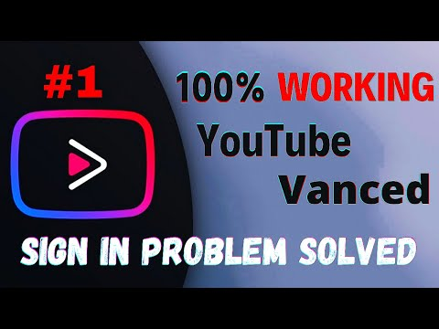 Youtube Vanced Sign In Problem Solved 2021 In hindi (New Tricks)
