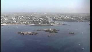 DVD video touristique du Finistère vu du ciel par hélicoptère