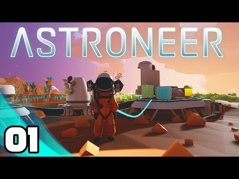 Let's Play Astroneer - Ep. 1: New Space Game! | Astroneer Gameplay