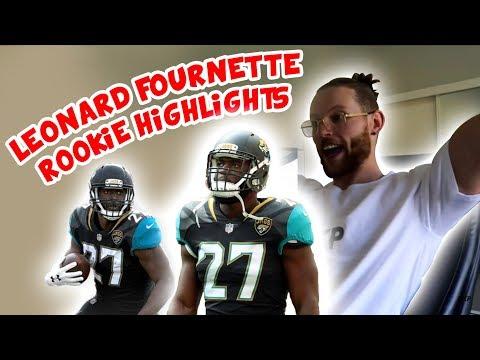 Rugby Player Reacts to LEONARD FOURNETTE NFL Rookie Highlights 2017 Jacksonville Jaguars
