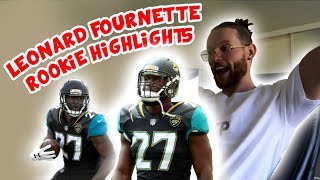 Rugby Player Reacts to LEONARD FOURNETTE NFL Rookie Highlights 2017 Jacksonville Jaguars