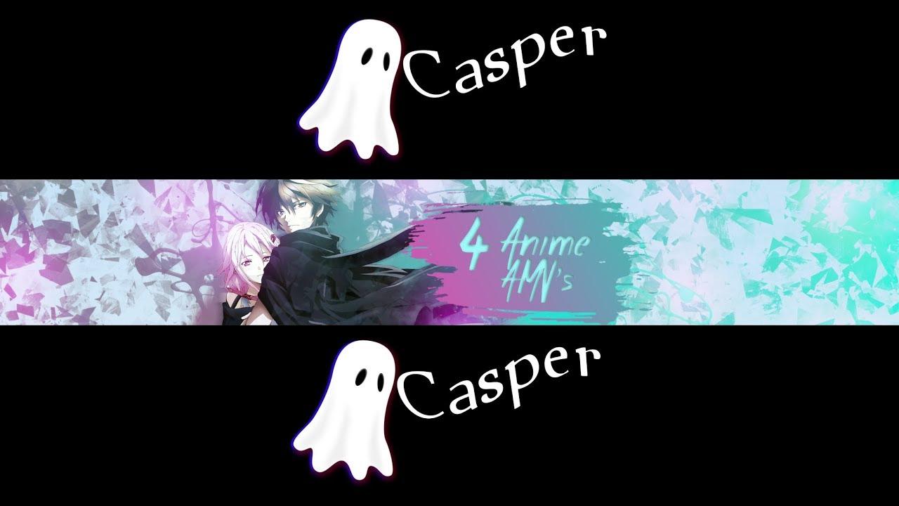 Speed art Photoshop Banner + Profile | 4 Anime AMV's |
