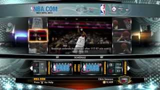 NBA 2K13 My Career - Finals Live Stream June 23rd at 1PM Eastern