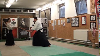 Kumitachi 3- [TUTORIAL] Aikido advanced weapon technique: 組太刀