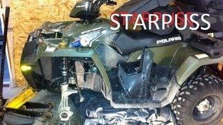 Polaris Sportsman 500 Wheel Bearing removal 2008-2015