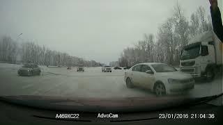 Видео  аварии на Грани Алтая 06.01.2019 примерно в 15:30