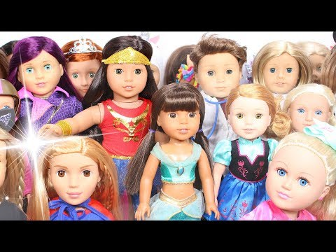 Dressing My American Girl Dolls