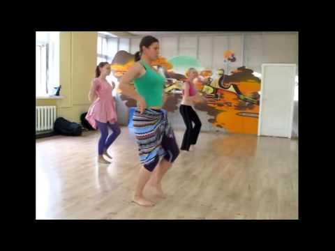 Африканские танцы с Татьяной Тихоновой ЧАСТЬ 1