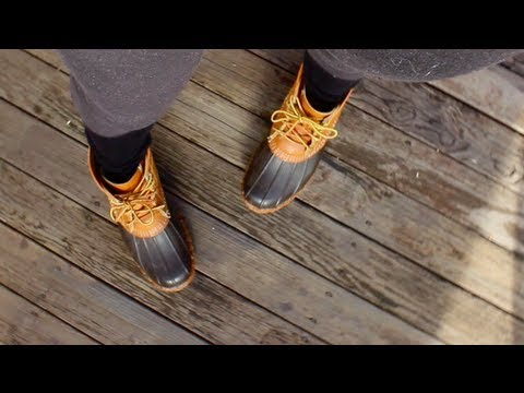 How I Style: LL Bean Duck Boots