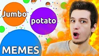 Jumbo, Agar.io, Potato and Memes