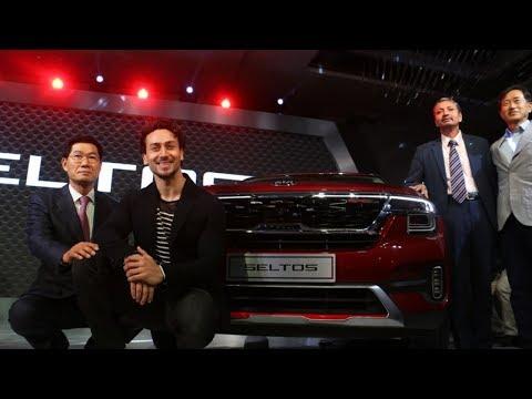 Tiger Shroff Launches Kia Seltos SUV in India