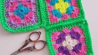 Hanim Beğendi Bey Dilendi Modeli ve Motif Birleştirme/ Crochet Grannysquare