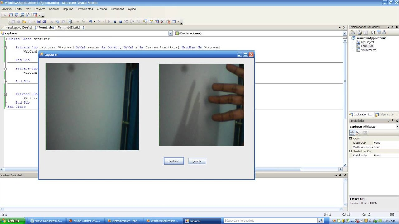 Visual Basic Express Webcam 55