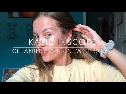 Cleaning Your New Piercing - Quick and Easy Routine