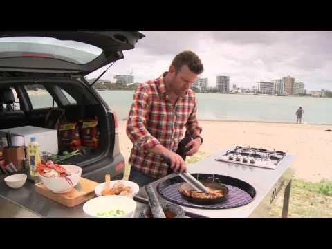Heat Beads® Drive Thru Australia Seafood Jambalaya BBQ recipe