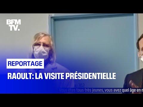 Raoult: la visite présidentielle