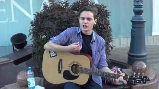 Невеста! Поет молодой парнишка из Бреста! Музыка на улице...