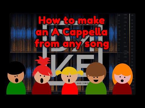 Adobe Audition Acapella