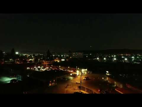 DRONE: City of Industry California: Vineland Drive-In