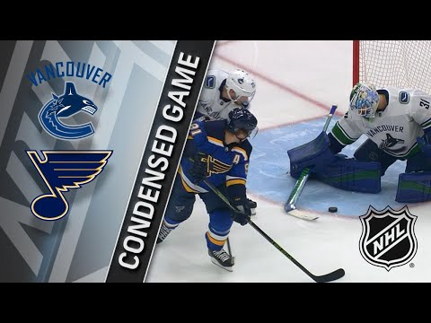 03/23/18 Condensed Game: Canucks at Blues