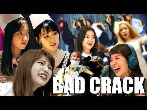 (red velvet on crack) MAYBE
