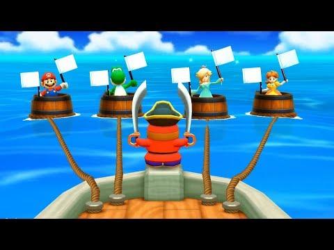 Mario Party: The Top 100 Minigames - Mario Vs Yoshi Vs Rosalina Vs Daisy