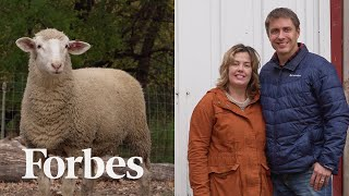 The Entrepreneurial Couple Raising Sheep To Find A Treatment For A Rare Disease | Forbes