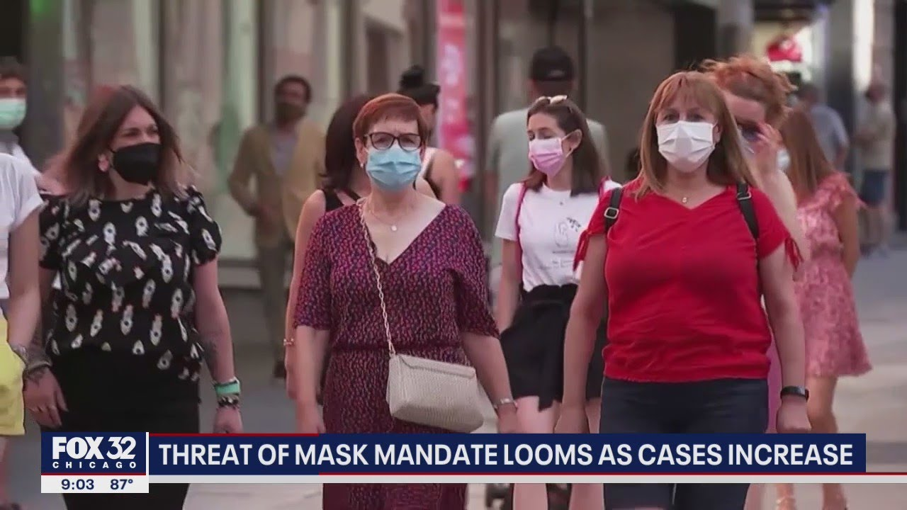 ANOTHER MASK MANDATE? Lightfoot says 'everything's on the table'