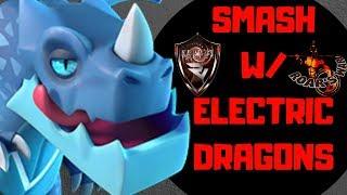 DOMINATE w/ Electric Dragons - Reddit Vortex - Clash of Clans