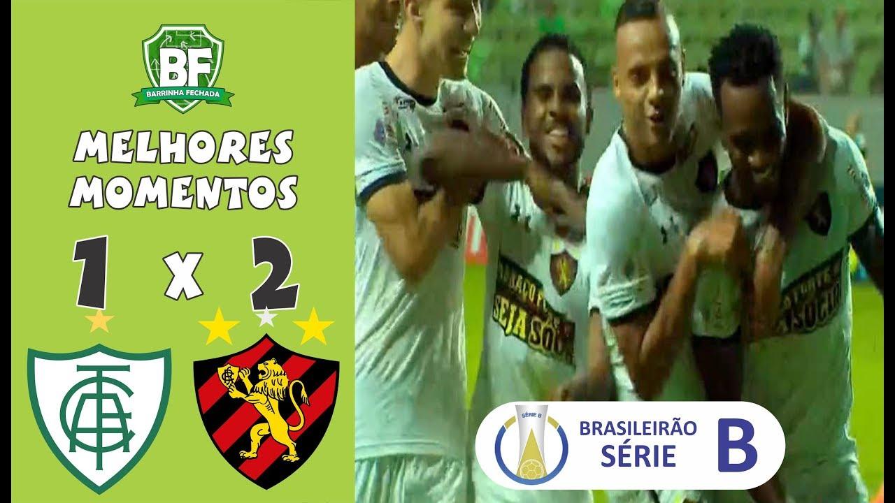 América MG 1 x 2 Sport | Brasileirão série B 2019 | Melhores Momentos | Barrinha Fechada