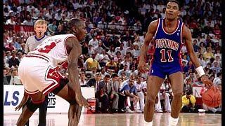 The Michael Jordan and Isiah Thomas Story   How it began 1080p
