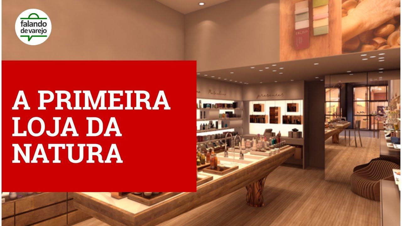 c4e0f6806 NATURA - Conheça a primeira loja da marca! - YouTube