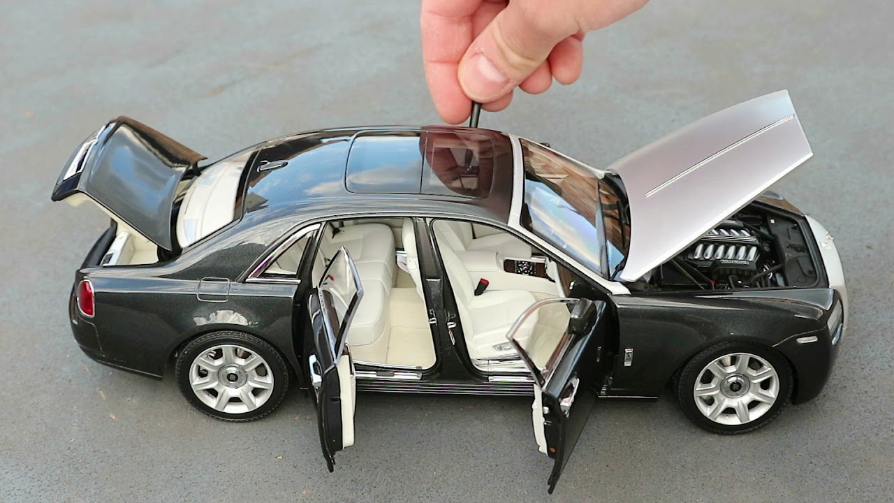 1:18 Rolls-Royce Ghost 2011 - Kyosho Unboxing - YouTube