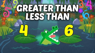Comparing Numbers - Greater Than Less Than For Kids | Basic Math Lessons For Kids