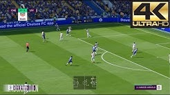 FIFA 19 4K 60 FPS Amazing Realism LIVE Broadcast Camera Chelsea vs Liverpool