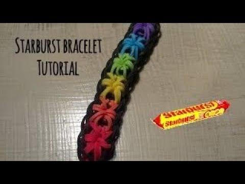 Rainbow Loom - Starburst Bracelet - INTERMEDIATE